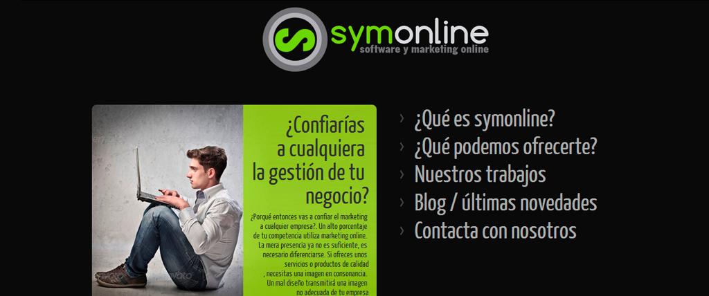 Nueva página web para SYMONLINE