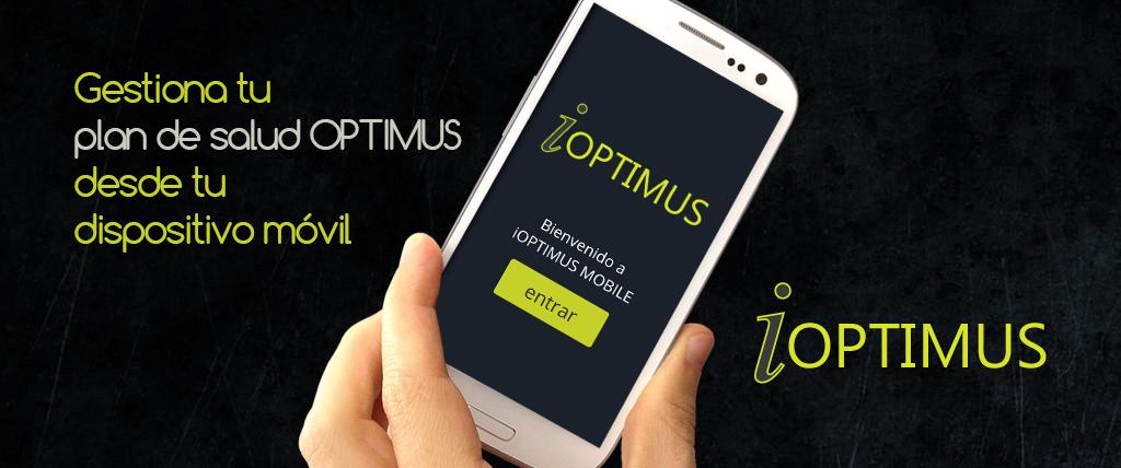 La primera versión pública de la aplicación móvil IOPTIMUS