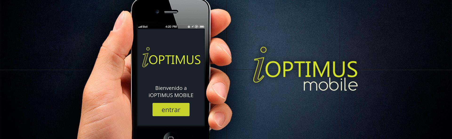 Disfruta de iOPTIMUS ya en tu móvil