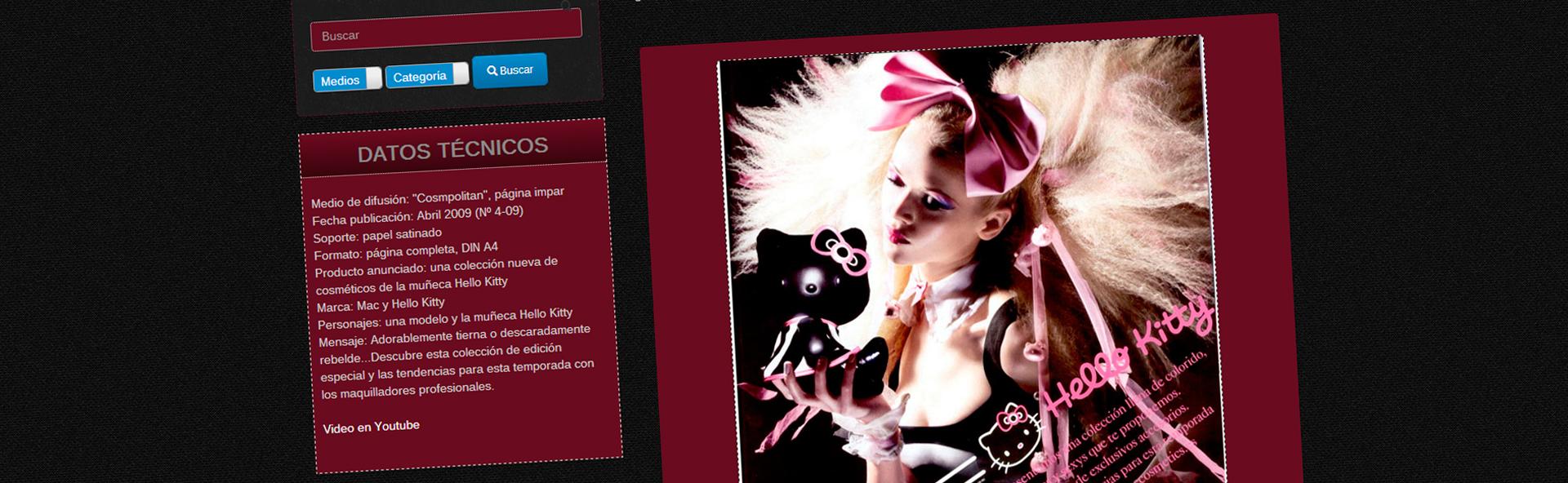 Rostros - detalle de diseño - Diseño web