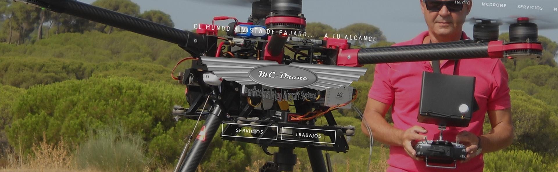 Detalle de página web MD-Drone