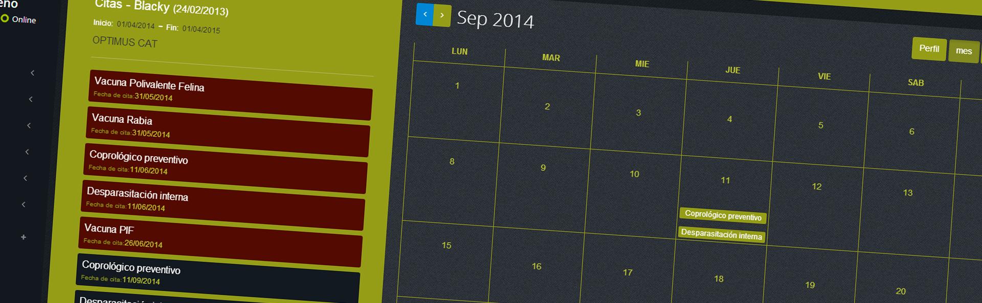 Tu calendario de citas a tu alcance en cualquier momento