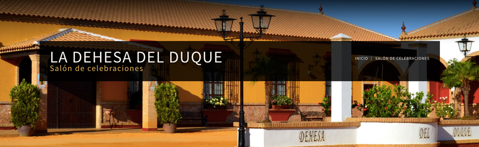 Salón para bodas Huelva